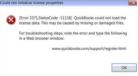 Quickbooks-error-3371-status-code-1118